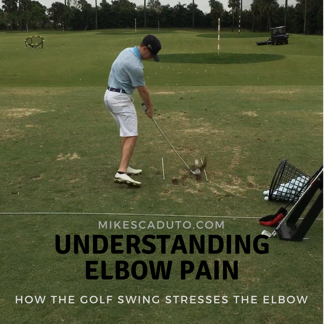 Understanding Elbow Pain: How the Golf Swing Stresses the Elbow